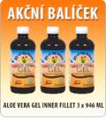 ALOE VERA GEL INNER FILLET 3 x 946 ML