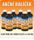 ALOE VERA GEL INNER FILLET 6x946 ML